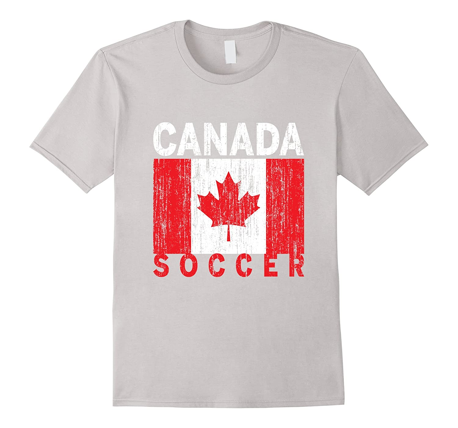 Canadian Soccer, Canada Flag, Canada Pride T-Shirt-TH