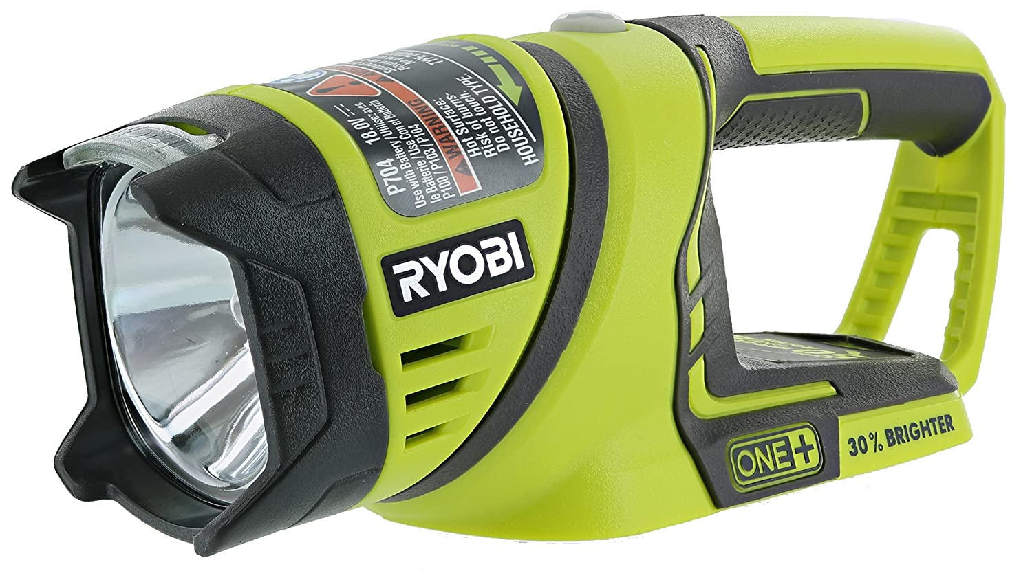 Ryobi One+ P704 18V Lithium Ion Cordless Flashlight w/ Rotating Head (Batteries Not Included, Power Tool Only)