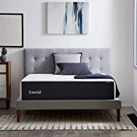 Deals on LUCID 14-inch Memory Foam Gel Infusion Mattress Queen
