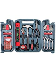 Hi-Spec 53 Piece Household Tool Set including Metric Wrenches, Precision Screwdrivers Set and Most Reached for Hand Tools