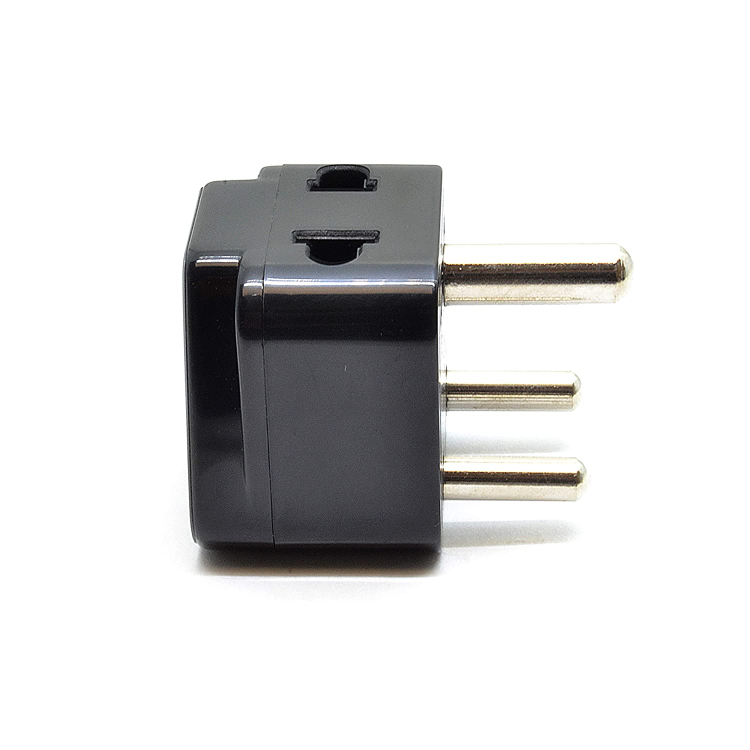 Amazon.com: OREI 2 in 1 USA to India Adapter Plug (Type D) - 4 Pack ...