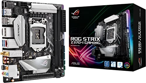 ASUS ROG Strix Z370-I Gaming Mini-ITX Motherboard