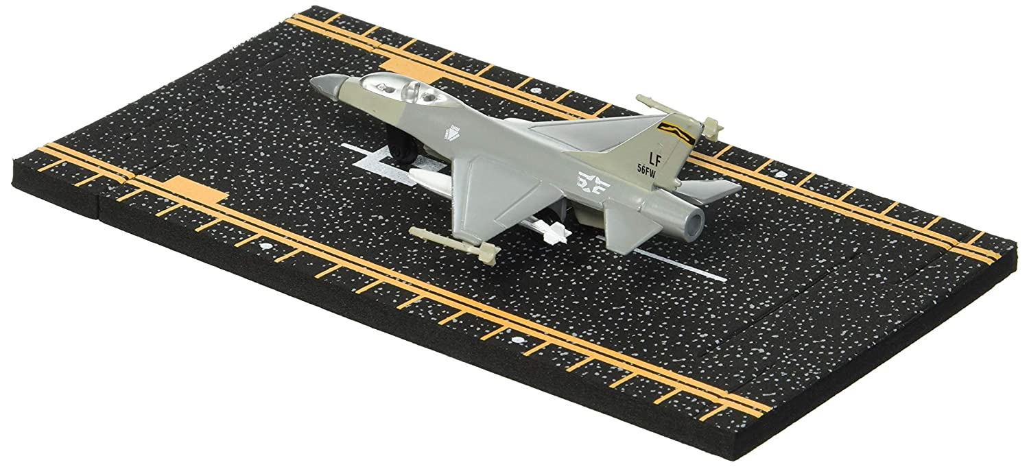 Hot Wings F-16 Jet with Connectible Runway Military Markings