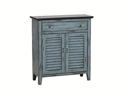 Powell 14A2046 2 Tone Shutter Door Cabinet