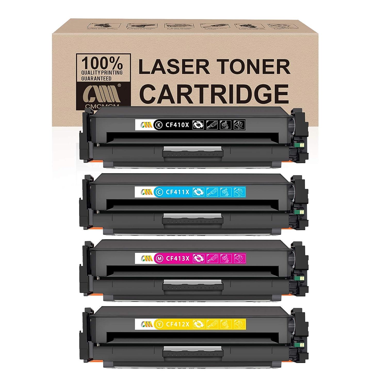 1PK CF410X Black Toner Cartridge For HP Color LaserJet MFP M452dw M452dn M477fdw