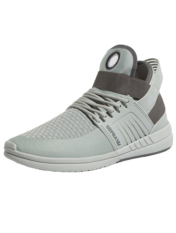Supra Mens Skytop V White White Skate Shoes 42.5 EU|Gris