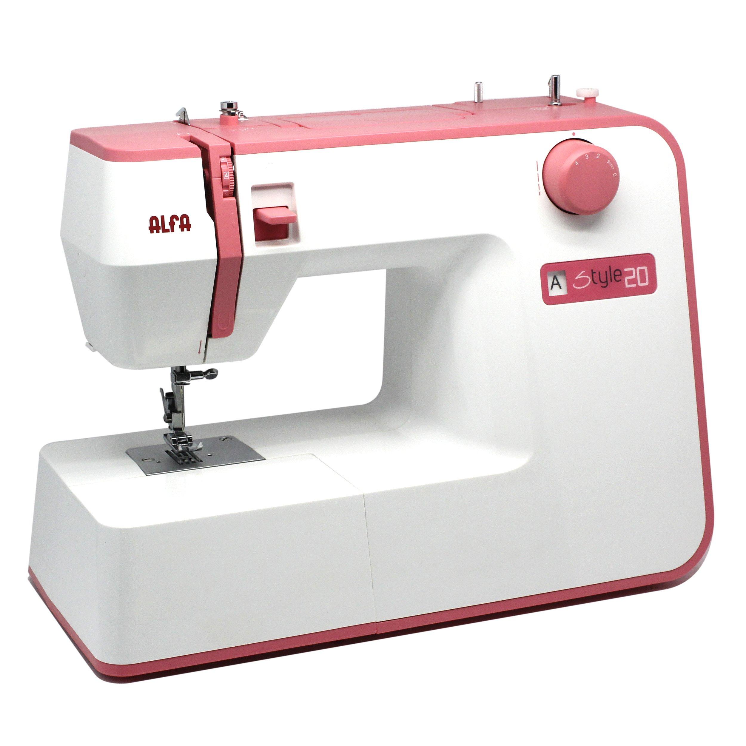 Alfa Style 20 - Máquina de Coser, Color Rosa product image