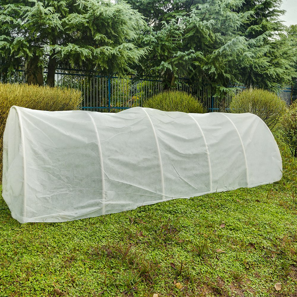 Agfabric Warm Worth Floating Row Cover & Plant Blanket, 0.55oz Fabric of 12x100ft for Frost Protection, Harsh Weather Resistance& Seed Germination by Agfabric (Image #3)