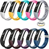Fitbit Alta Bands,Greeninsync(TM) Fitbit Alta Accessory Replacement Bands Large Small Available in 18 Colors with Metal Clasp and Ultrathin Fastener
