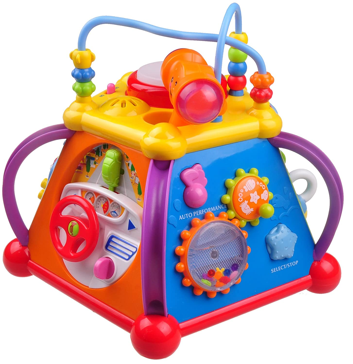 Think Gizmos Activity Toys for Toddlers Interactive Educational Toys for Young Kids Activity Centre