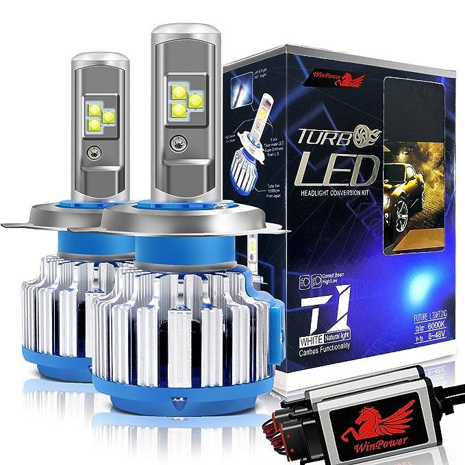 150 opinioni per WinPower Lampadine a LED H4 (HB2 / 9003) Faro Tutto in uno Kit di conversione