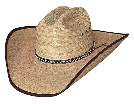 c3e6719428994 Bullhide Hats WIDE OPEN 15X Palm Leaf Straw Cowboy Western Hat at ...