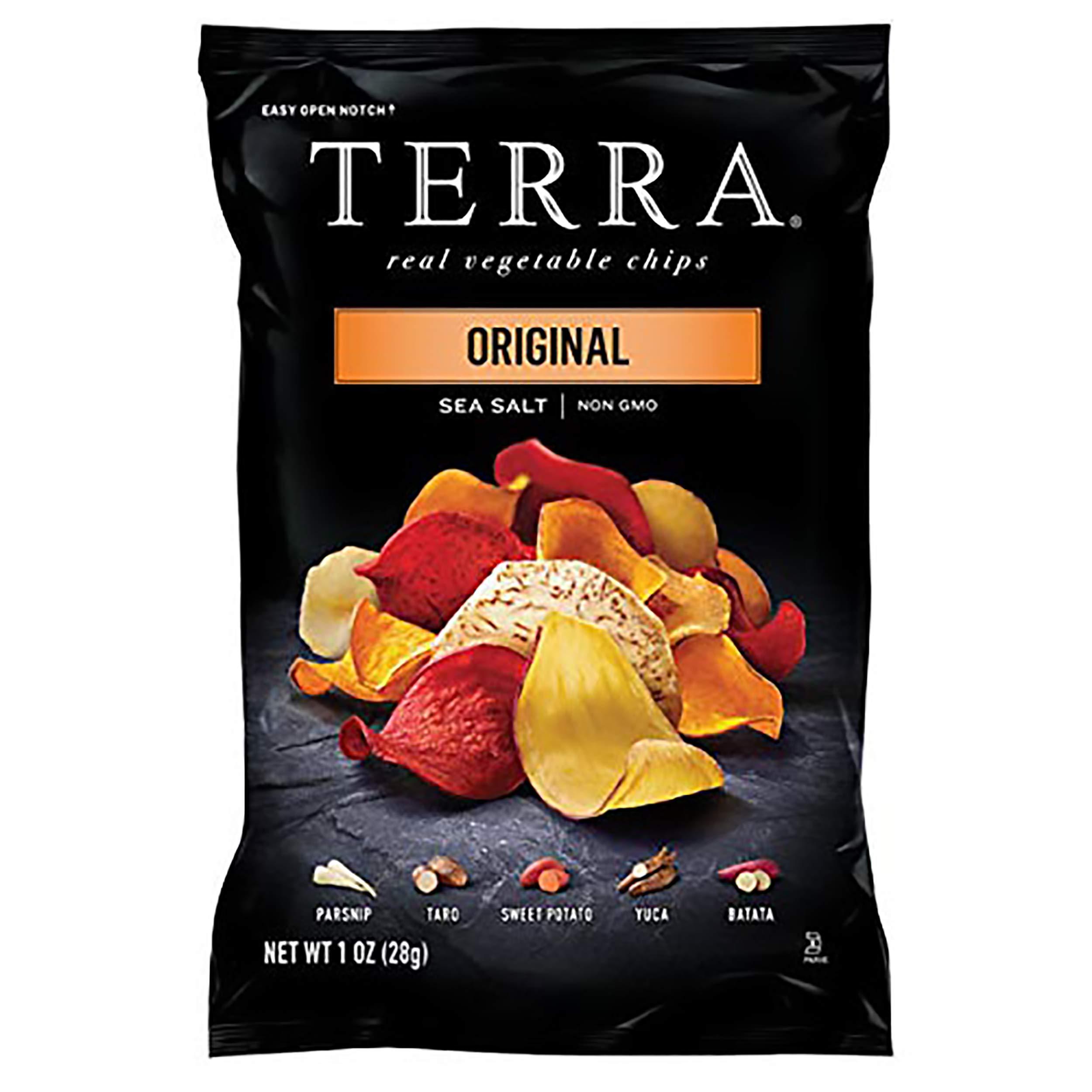 Terra Vegetable Chips with Sea Salt Pack , Black , Original, 24 Ounce
