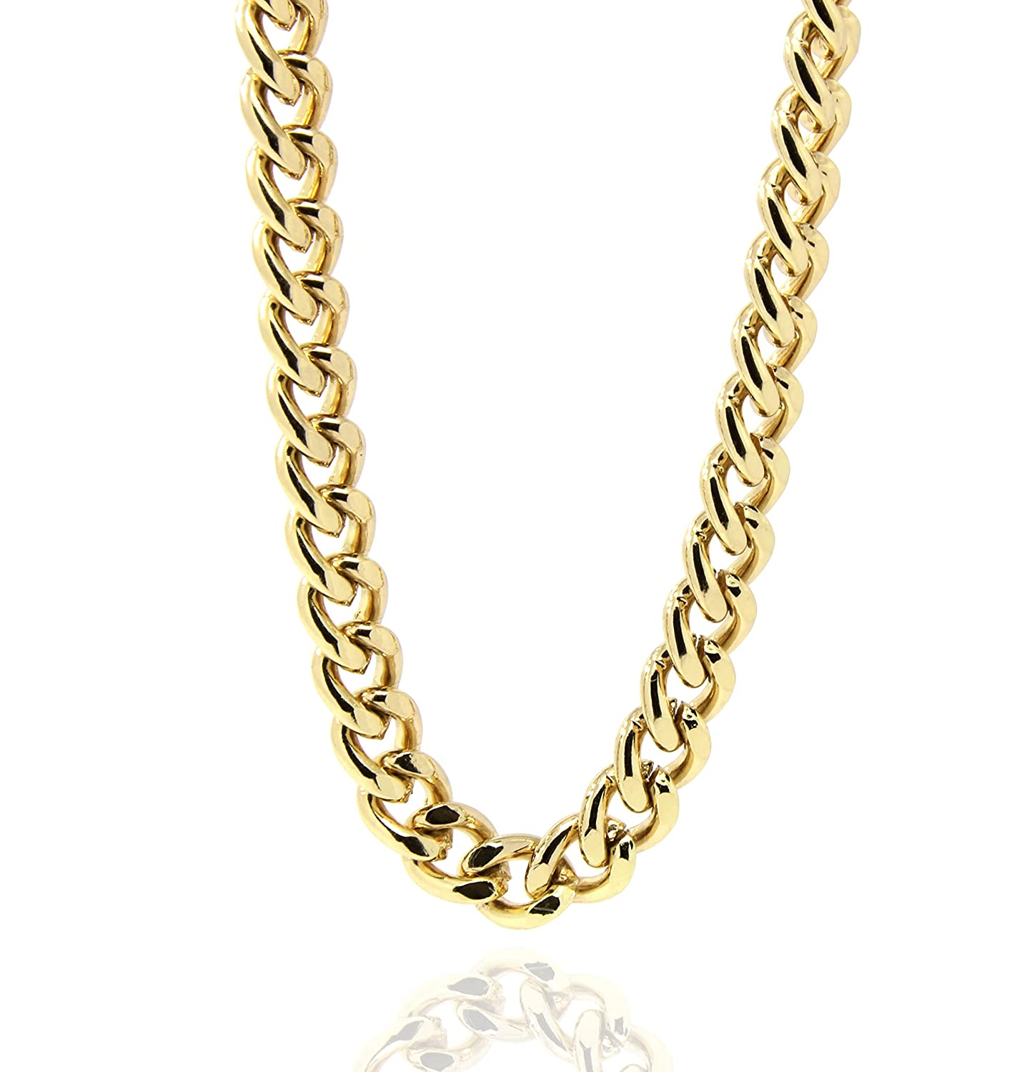 Mens 18k Gold Plated 30