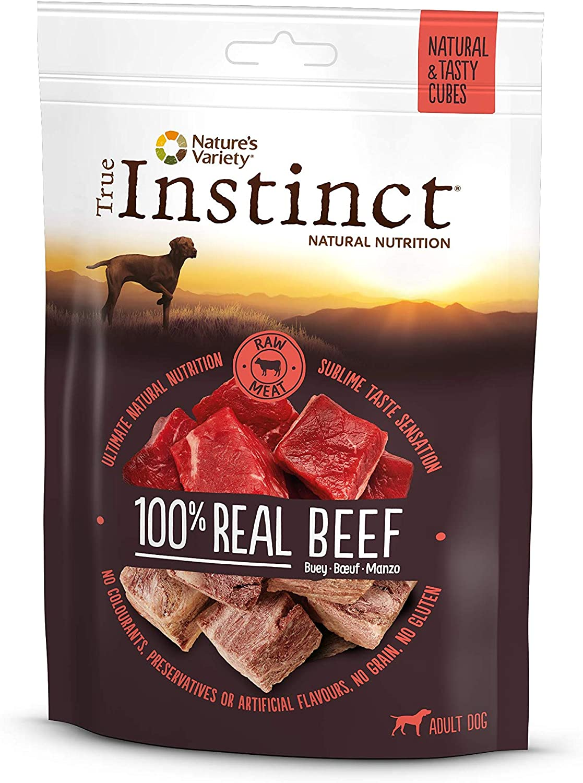 True Instinct Cubes Beef - Nature's Variety - Snacks de Ternera