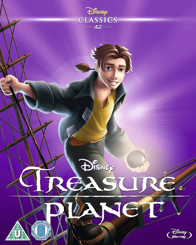 Treasure Planet Star Map.Treasure Planet Blu Ray Region Free Amazon Co Uk John Musker