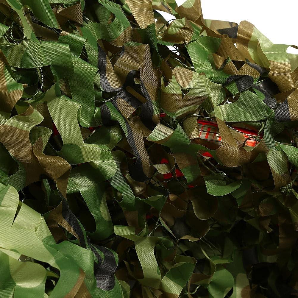 Dioche Malla de Camuflaje,3 x 5m Malla de Camuflaje Militar para Camufar Dar Sombra Militar Red de Camuflaje Mallas de Protecci/ón Ej/ército