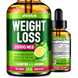 Weight Loss Drops - Appetite Suppressant for Women & Men - Made in The USA - Natural Metabolism Booster - Fast Weight Loss -