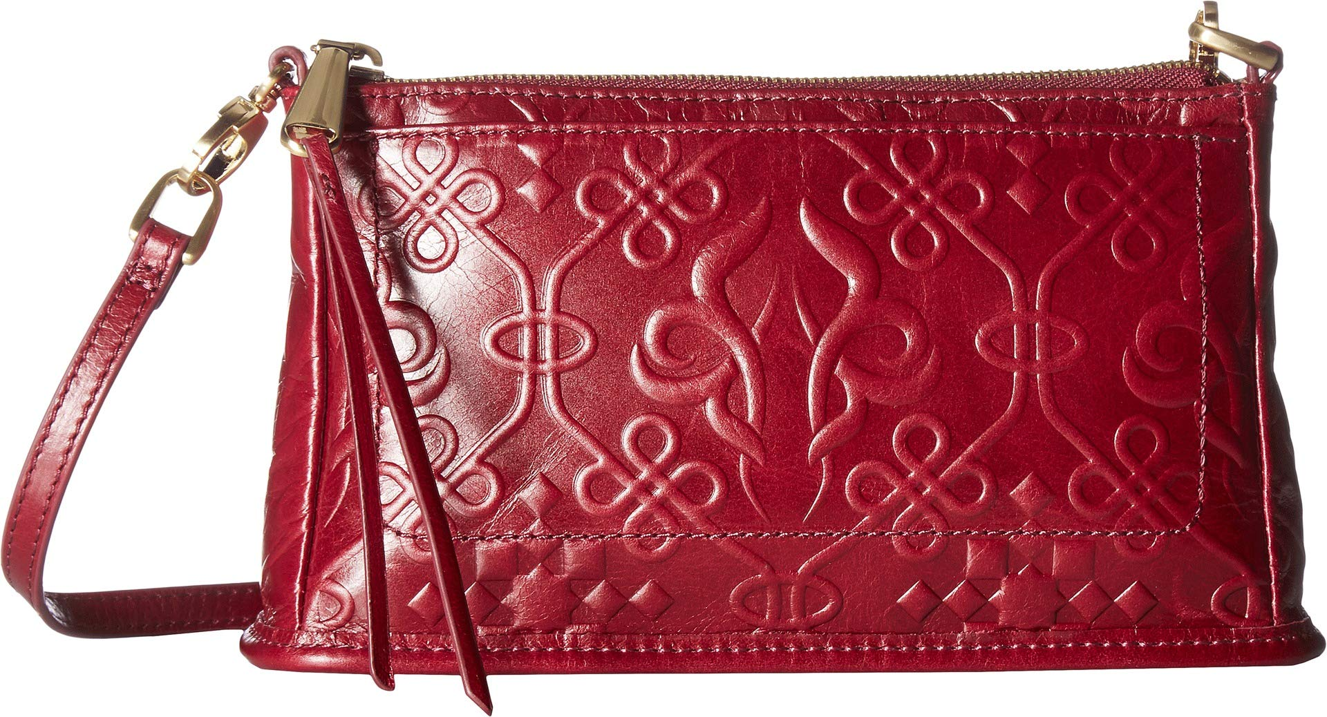 Hobo Women's Cadence Embossed Ruby One Size
