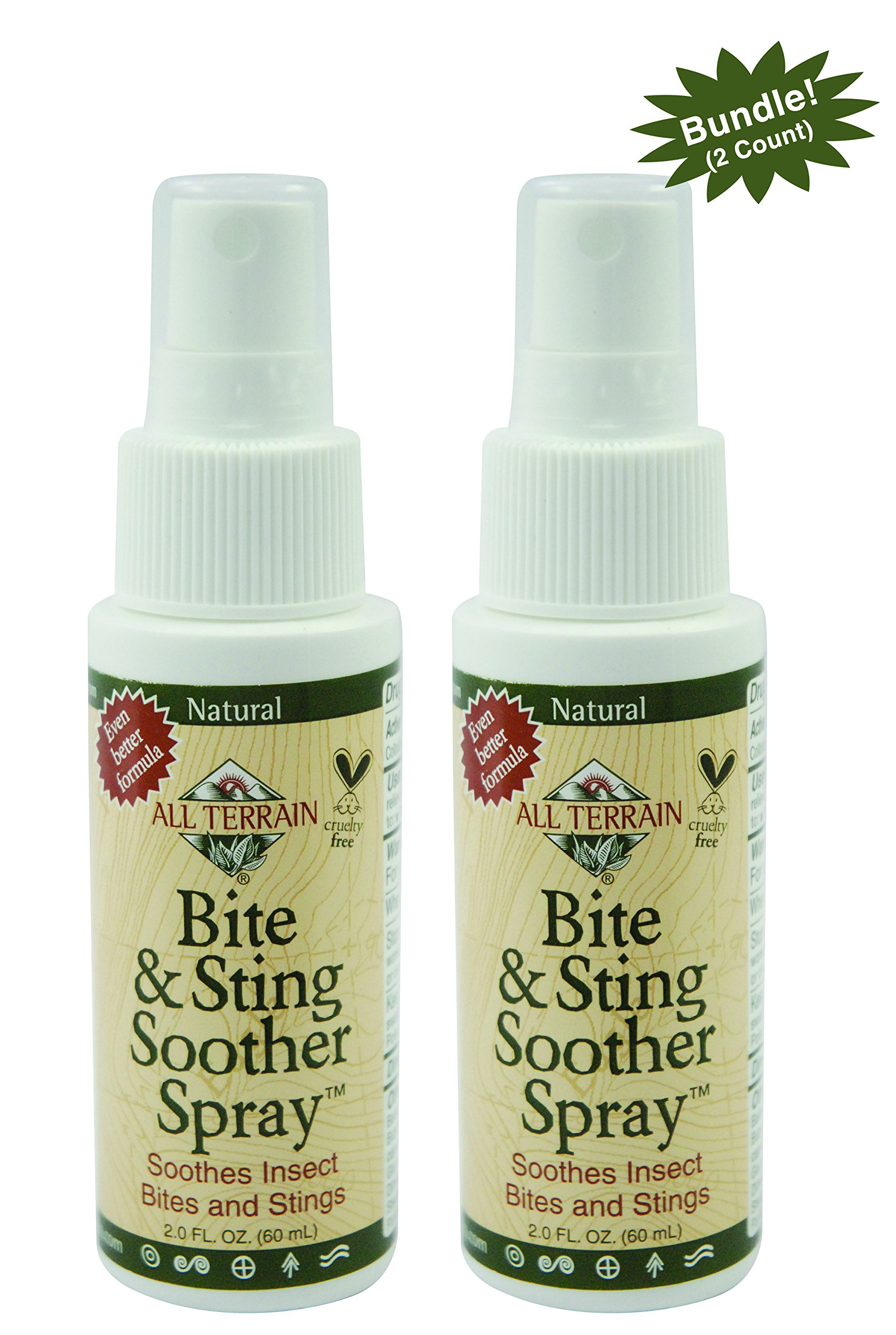 All Terrain Bite & Sting Soother 2 oz, 2 Count, Bundle by All Terrain