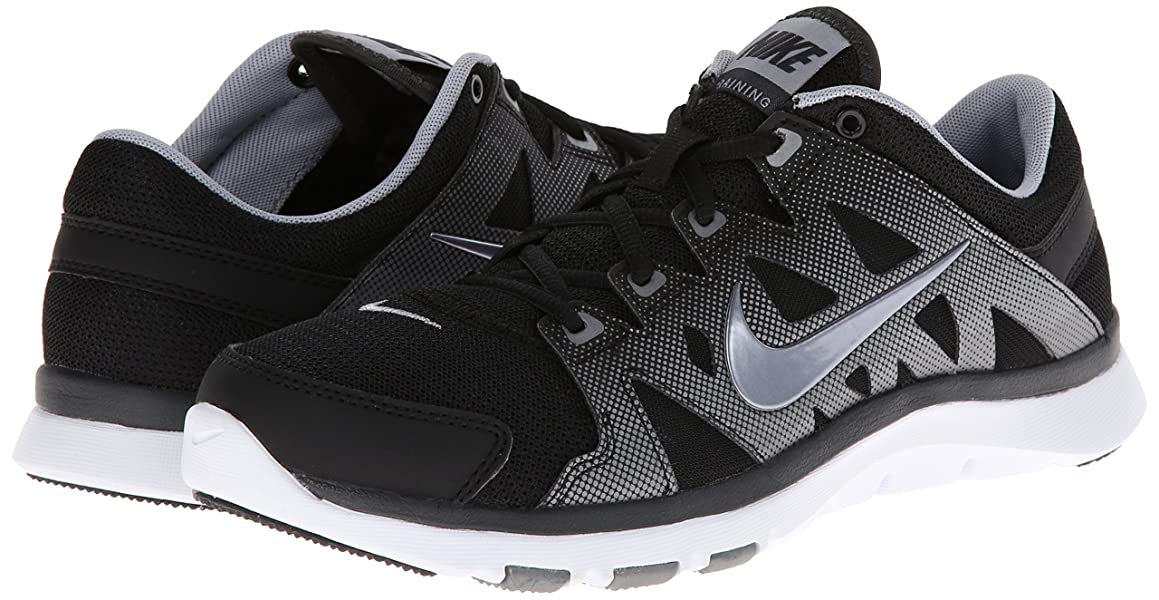 new styles c0051 dcdcf Amazon.com   Women's Nike Flex Supreme TR 2 Training Shoe Black ...