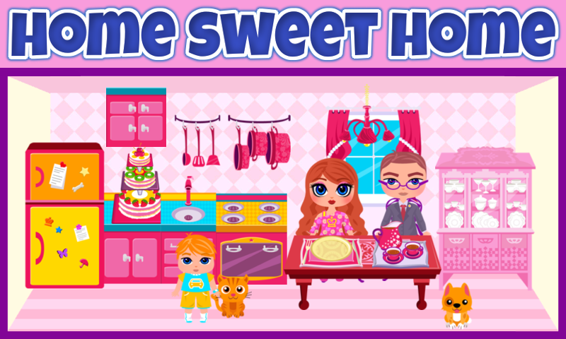 amazon com my own family doll house game paid appstore for android