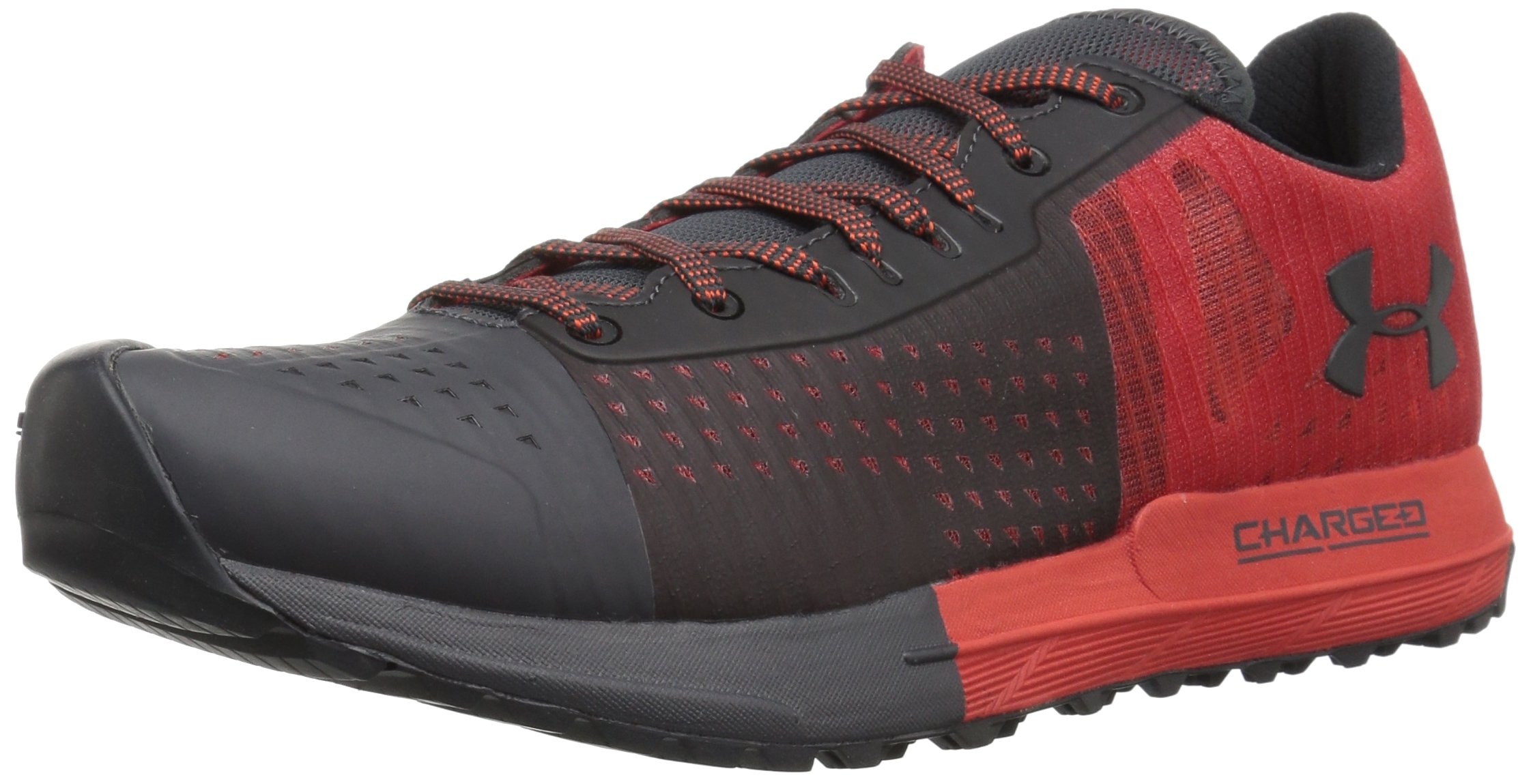 Under Armour Men's Horizon Ktv Running Shoe, Anthracite (100)/Sultry, 8.5