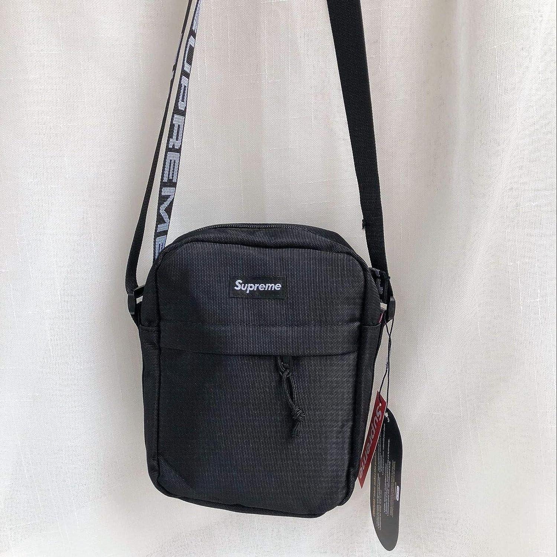 QIBT New Nylon Shoulder Bag Waist Messenger Bags Fanny Pack Bag for Men Unisex