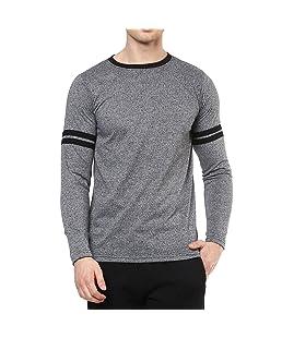 Veirdo Men's Cotton T-Shirt (Tsh_03Spaceblk-Bs_M_Black_Medium)