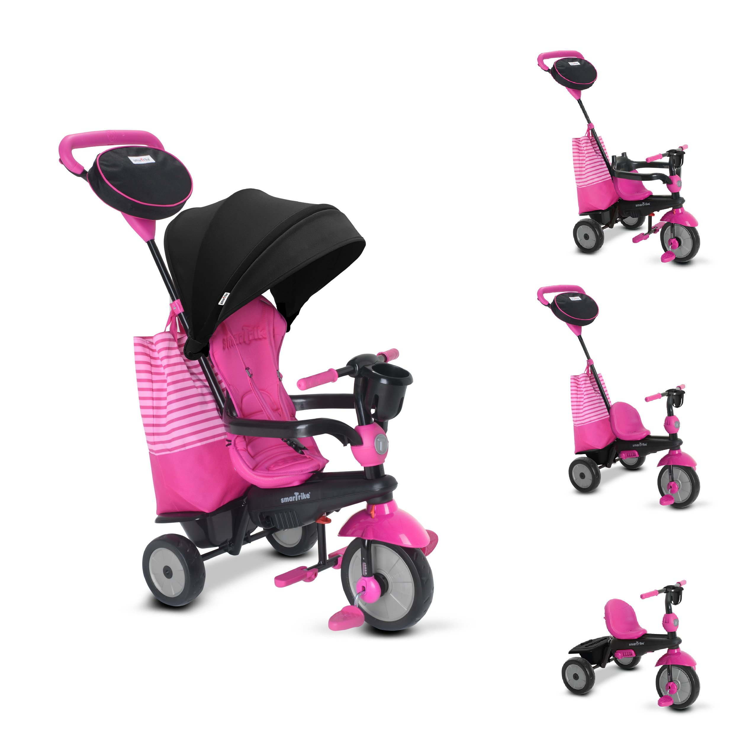smarTrike Swing Dlx Children's Tricycle, Pink