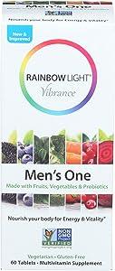 Rainbow Light, Multivitamin Mens One, 60 Count