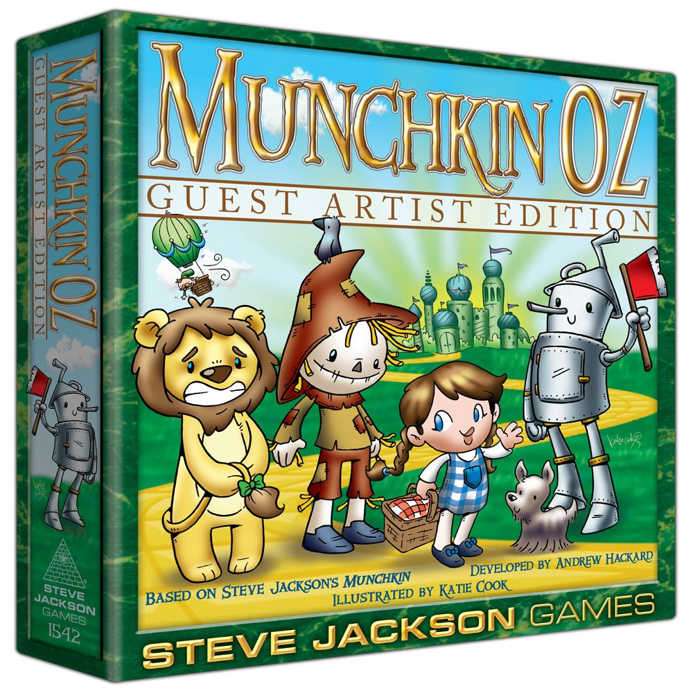 Steve Jackson Games Munchkin Oz Guest Artist Edition Katie Cook Card Game
