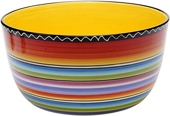 Certified International Tequila Sunrise Deep Bowl