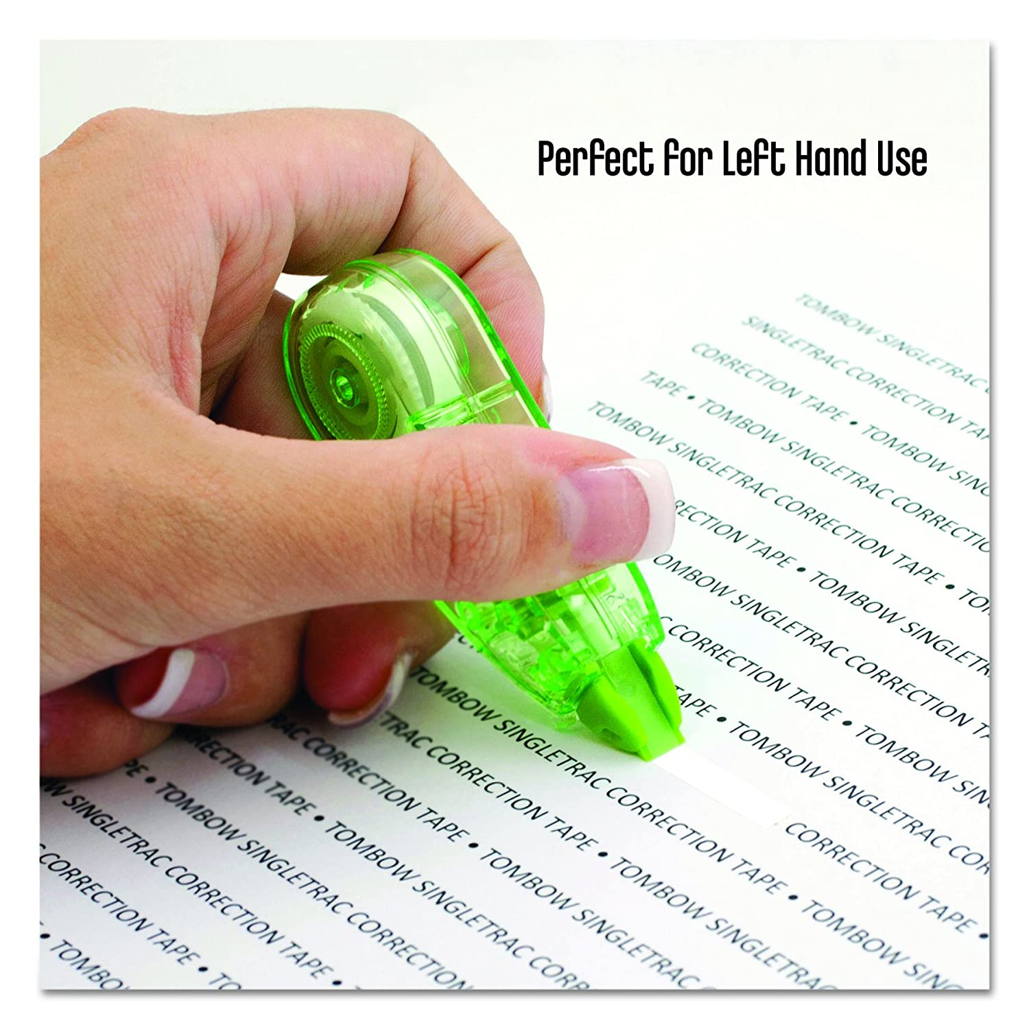 3//Pack 1//6-Inch by 236-Inch Tombow 68684 SingleTrac Correction Tape Non-Refillable