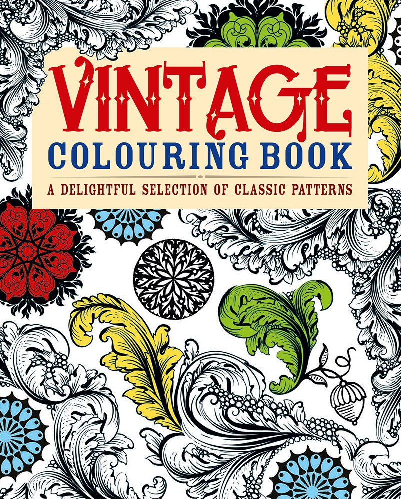 Vintage Coloring Book A Delightful Selection Of Classic Patterns Arcturus Publishing 9781782122203 Amazon Books