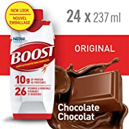 BOOST Original Chocolate Meal Replacement Drink, 24 x 237ml - PACKAGING MAY VARY