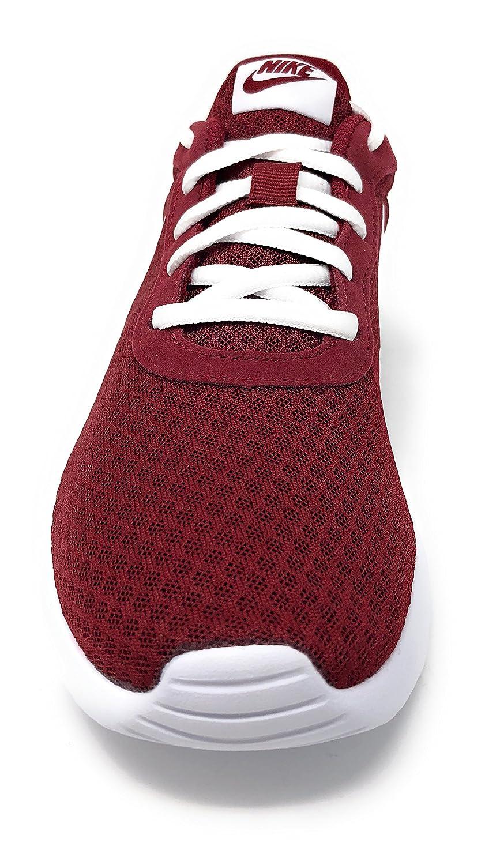 Amazon.com   NIKE Womens Tanjun Team Red/White Size 6 B(M) US   Fashion Sneakers
