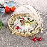 cheerfullus Hand-Woven Food Serving Basket