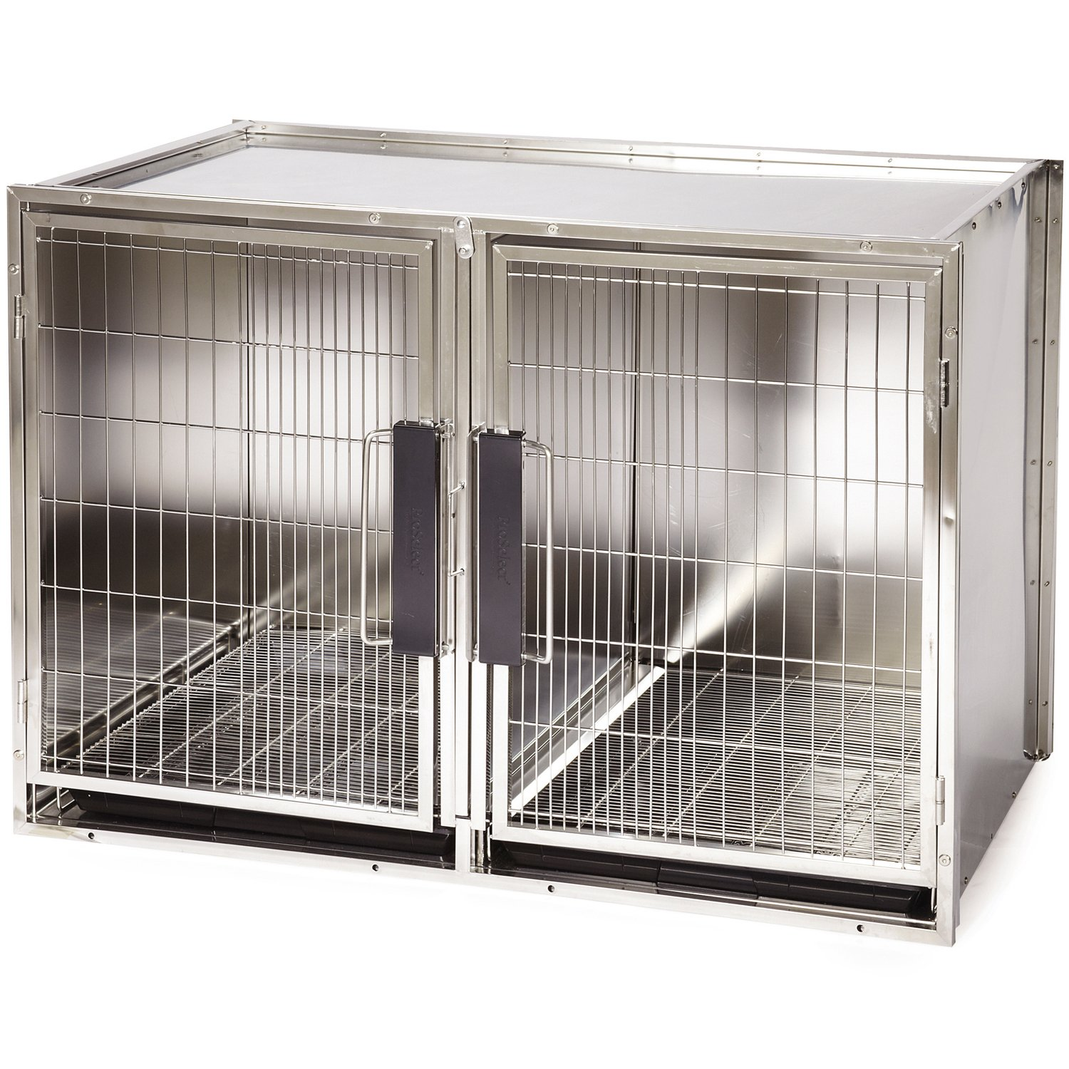 Amazon ProSelect Stainless Steel Modular Kennel Pet