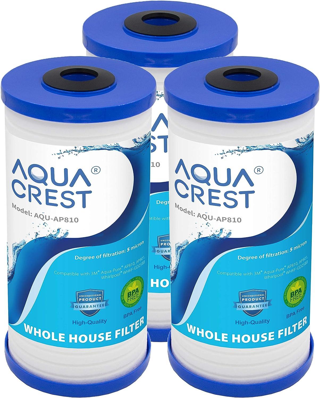 AQUACREST AQU-AP810 10 x 4.5 PP Sediment Filter