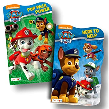7df1df4e5739 Amazon.com   Disney Baby Toddler Board Books - Set of 2 (PAW Patrol Board  Books)   Baby