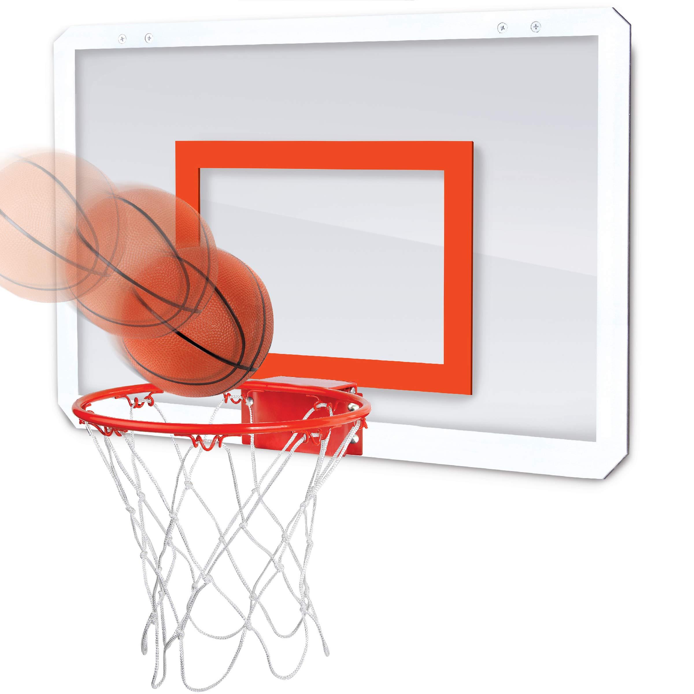 Black Series Break-Away Rim Over The Door Mini Indoor Basketball Hoop With Inflatable Mini Basketball by BLACK SERIES