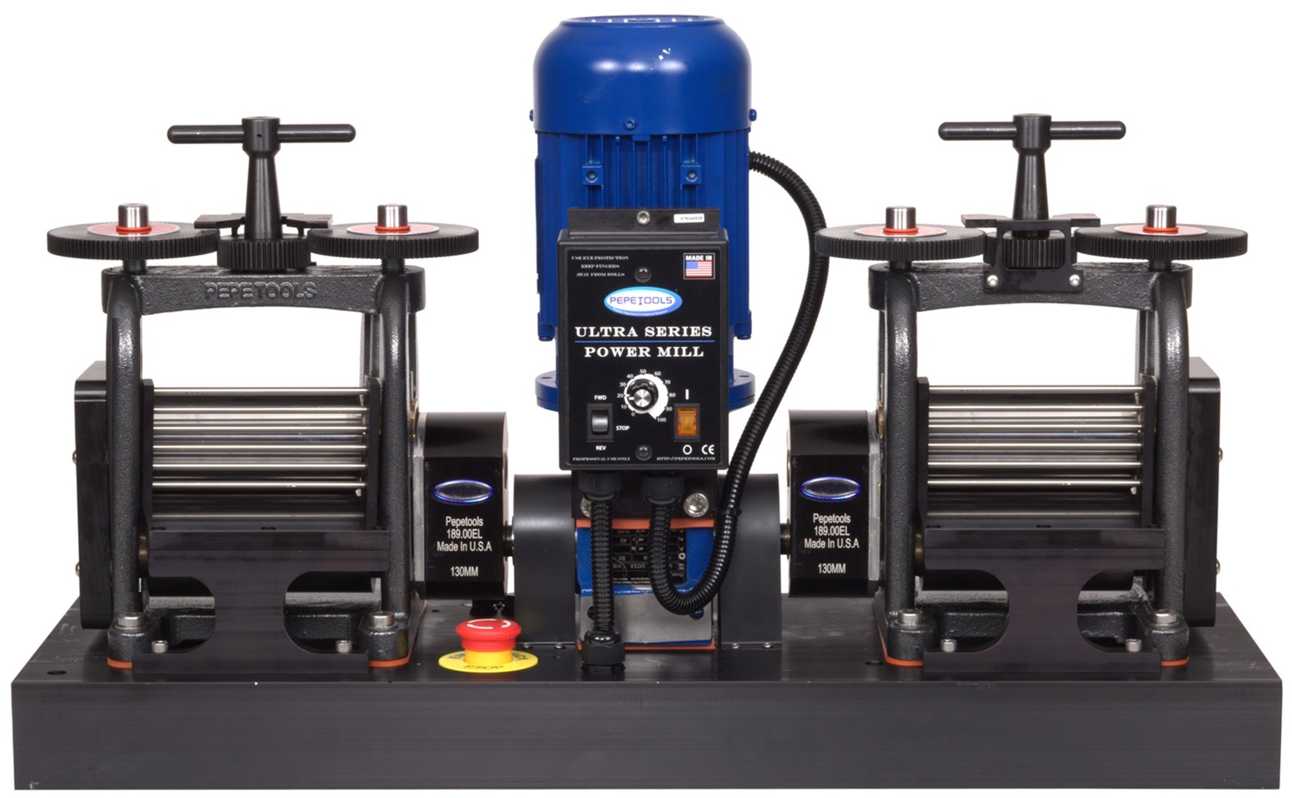 PepeTools Ultra Power Electric Double Flat Rolling Mills 130mm, MADE IN THE USA by Ultra Power