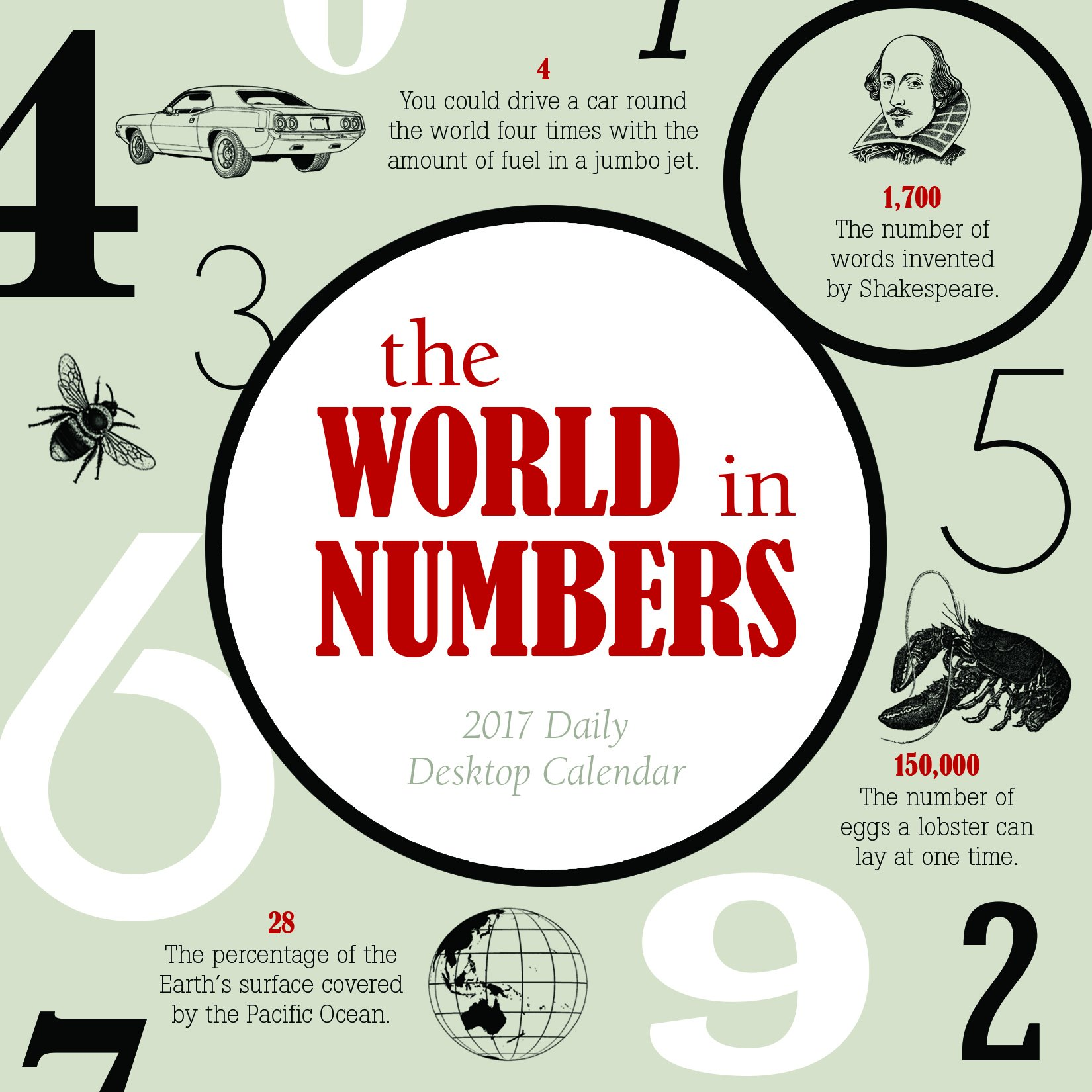 Read Online 2017 The World in Numbers Daily Desktop Calendar PDF