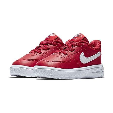 best service 5f4df 46f78 Nike Force 1 '18 (TD), Pantofole Unisex-Bimbi 0-24, Rosso ...