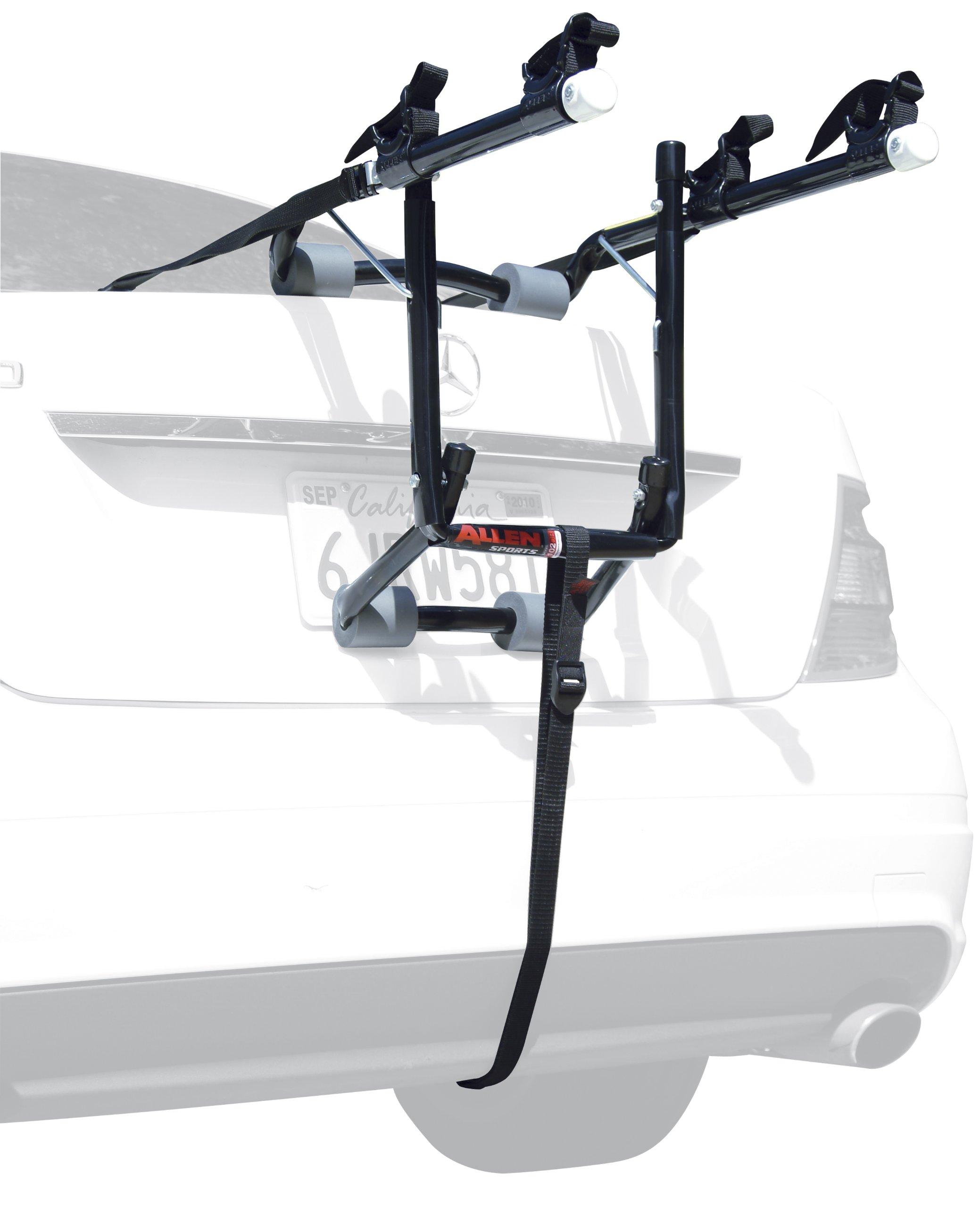 Allen Sports Deluxe 2-Bike Trunk Mount Rack