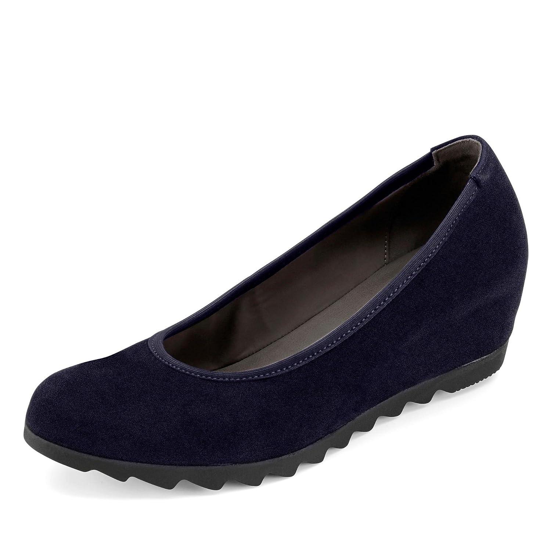 Gabor Shoes Femme Basic, Escarpins Femme Shoes 8|Navy Suede 521e1c