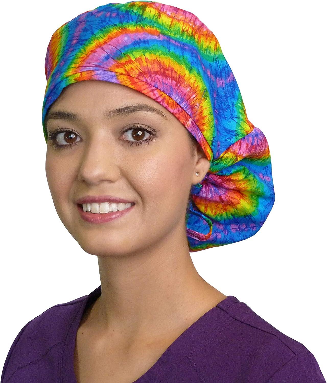 scrub cap ponytail scrub cap healthcare hair cover womens scrub hats Hospital scrub hat ponytail scrub hat