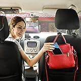 EldHus Black OfsPower 4-Pack, Back Seat Headrest