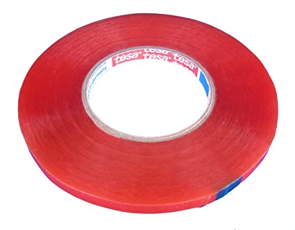 Tesa 4965 High Temperature High Shear Double Sided Tape 9mm x 50 meter roll
